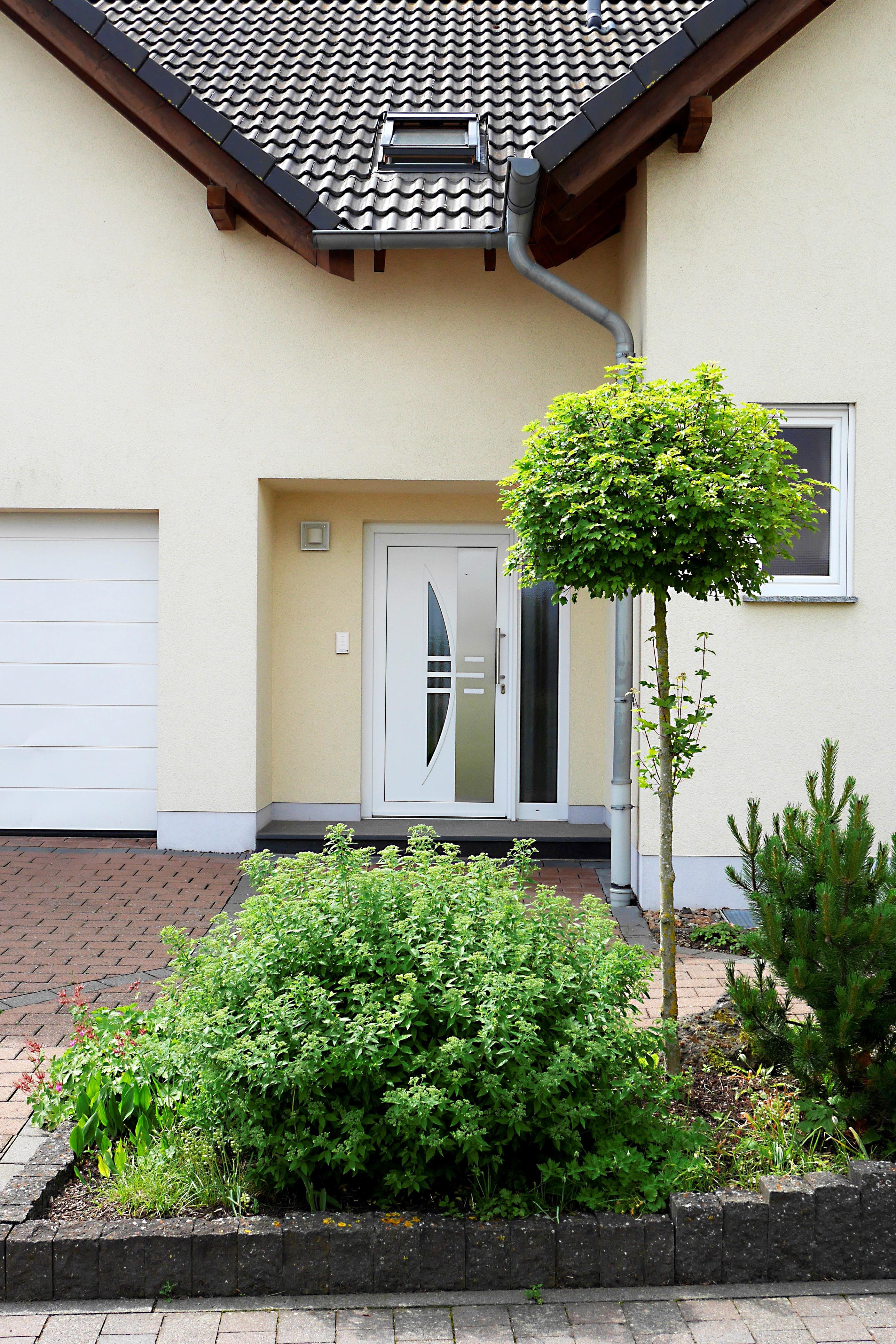 Separater Eingang zur Wohnung
